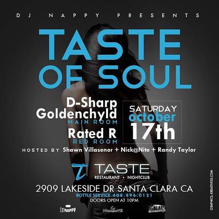 Taste OF Soul With D-Sharp 10.17.15