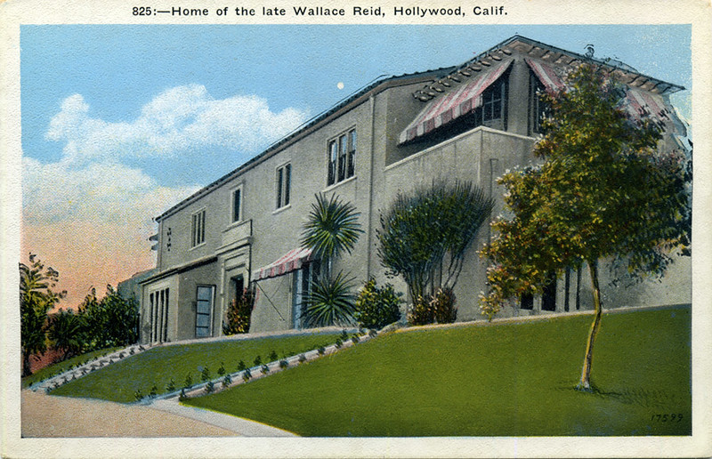 Home of the late Wallace Reid
