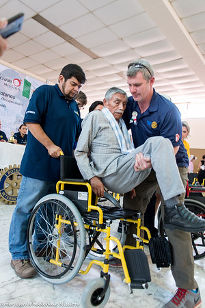 2016 Rotary Club Guadalajara Wheelchair Distributions