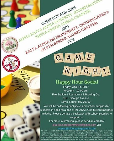 2017-04-14 Game Night Happy Hour