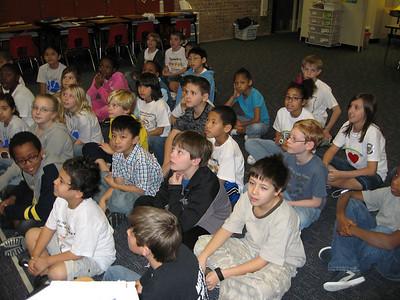 School Music/Clarinet Presentations - Big Springs Elementary February '07