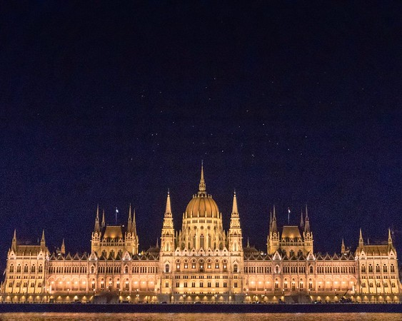 Budapest, Bratislava, and Vienna