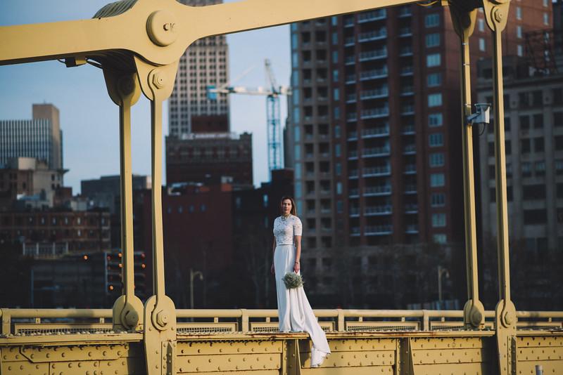 Pittsburgh Elopement Photographer - Monaco Bridge Downtown - Hadley-294.jpg