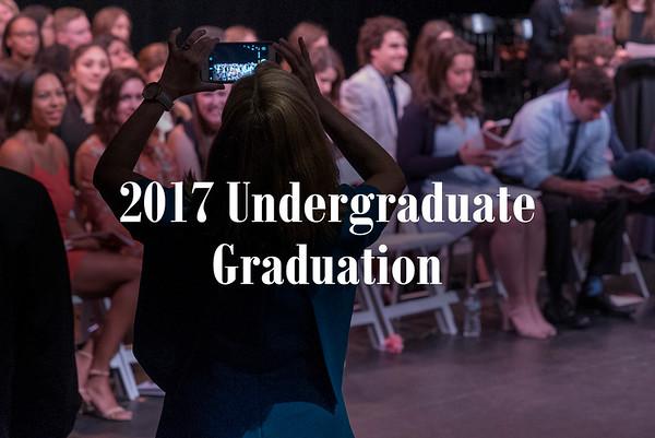 2017 undergraduate graduation