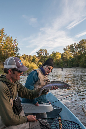 Steelhead Fishing on the Rogue, Sept 27, 2013