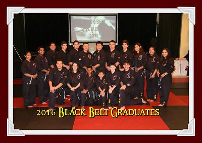 2016 Black Belt Candidates