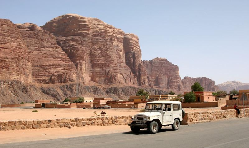 Wadi Rum - Rum Village.