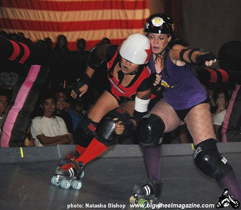 LA Derby Dolls presents Fight Crew vs Varsity Brawlers - at The Doll Factory - Los Angeles, CA - August 29, 2009