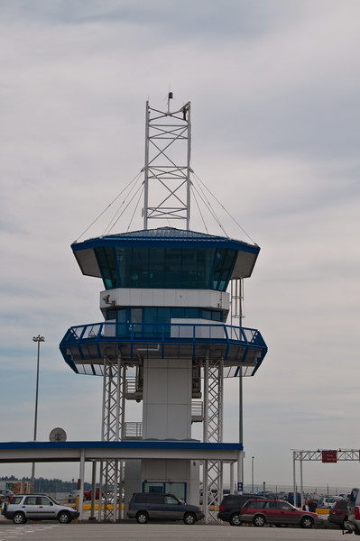 Control tower for the Ferry terminal.