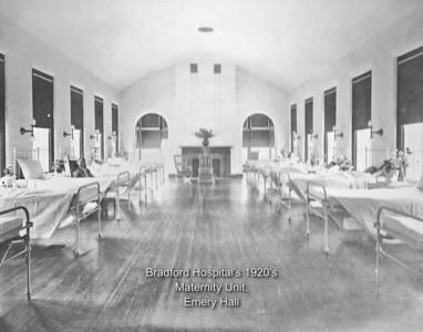 BRMC Maternity Ward 1920s