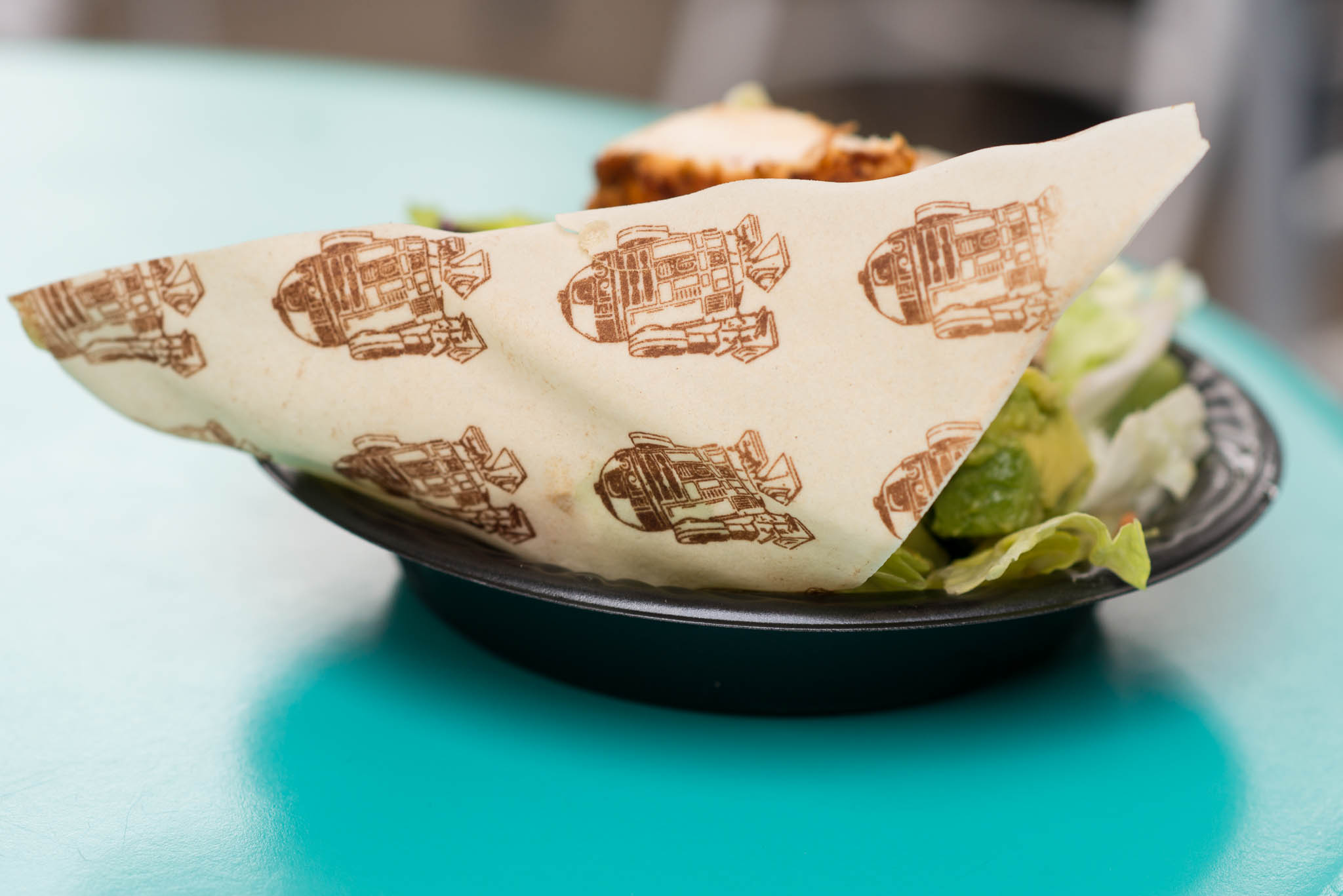 Disney's Hollywood Studios - Galactic Chicken Salad R2-D2 Tortilla