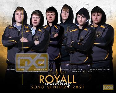 Royall seniors WRE2021