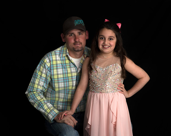 Jadyn and Zach -  Father Daughter Dance 2-24-2018