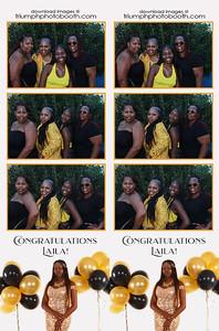7/17/21 - Congratulations Laila