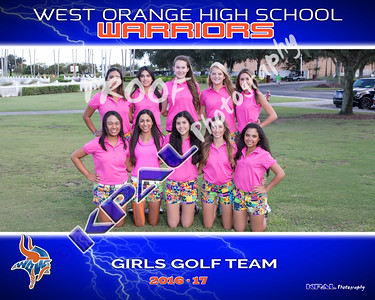 Girls Golf Team 2016