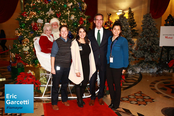 2016 Holiday Photos with Mayor Eric Garcetti
