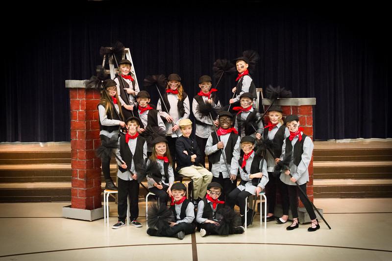 Mary Poppins BERTS Cast