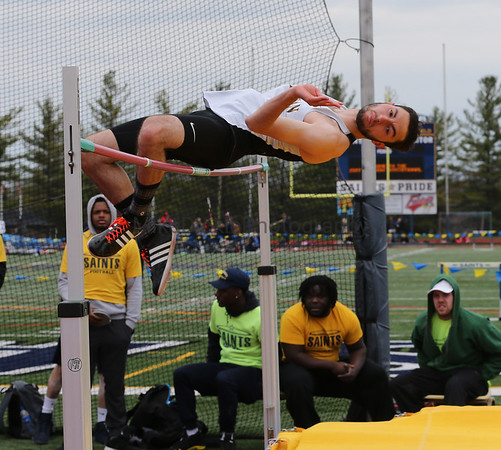 Siena Heights and Adrian College track