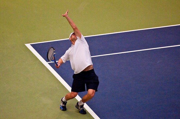 USA vs Switzerland Davis Cup 09