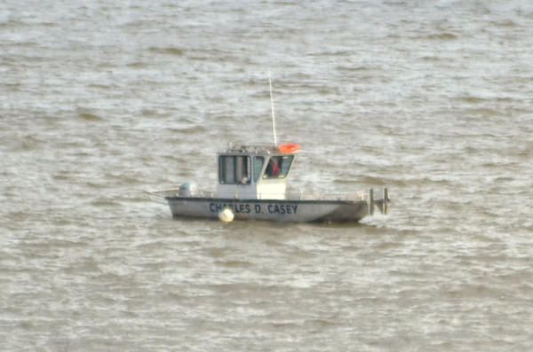 Charles D Casey Been same area several days West shore Hudson at Newburgh - Beacon Bridge 15/11/12 Has push capabilities Think its looking for something