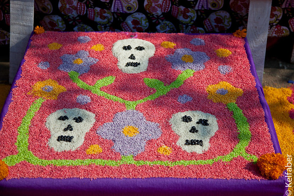 """""""Day of the Dead""""-Mexico, Alters & Cemeteries"""