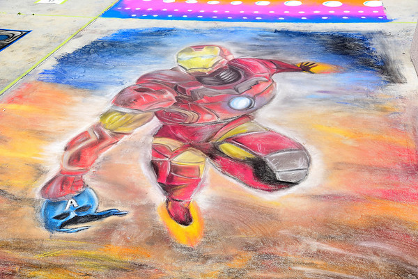 AUTISM Chalk Festival Photos By William Kidston.