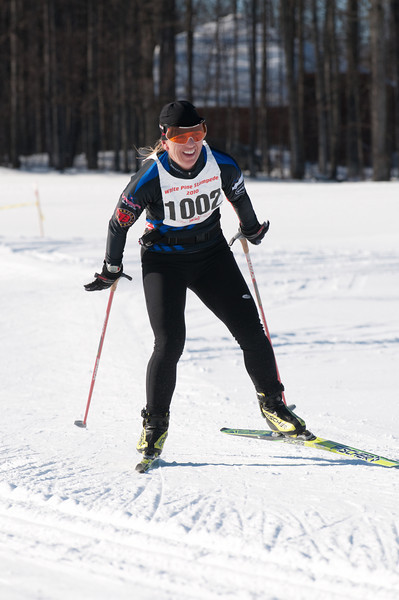 Susan Vigland, 20K Freestyle Champion