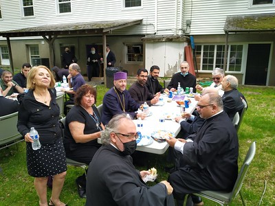 Holy Ascension Day at Trumbull, CT (May 13, 2021)