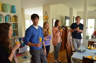 Easter Brunch with Chris, Drew, Katie, Stephie, and Biagi-Ogdens