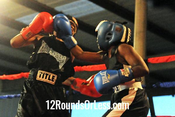 Bout 7 Nick Washington, H4C Wolfpack -vs- Tyrez Jackson, UBA 80 lb Junior