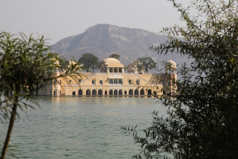 Jal Mahal or Water Palace.