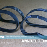 SKU: AM-BELT/3M/240, 240-3M Trapezoidal-Tooth Timing Belt, Closed-loop 3M Pitch Elasomeric Timing Belt 240mm Length