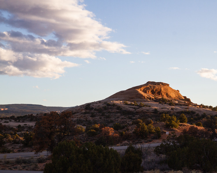 Sunset in the CanyonLands