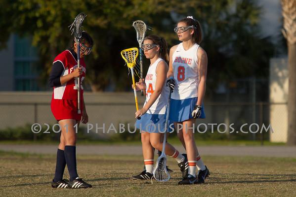 Boone Girls JV Lacrosse 2011 - #8