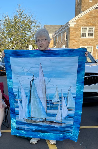 Another quilt by Liz.  This for a sailing friend.