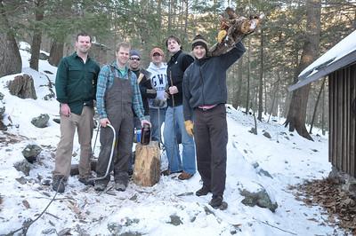 Hermitage Winter Cabin Trip Jan 2011