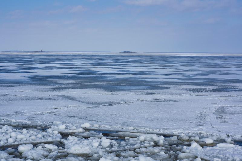 Frozen Sea near Hailuoto