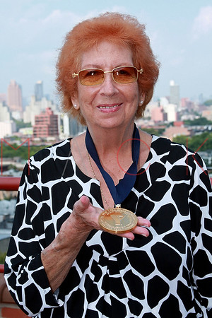 """NEW YORK - AUGUST 21:  The Rena """"Rusty"""" Kanokogi YMCA Gold Medal Luncheon at Prospect Park YMCA Rooftop on August 21, 2009 in the Borough of Brooklyn in New York City."""