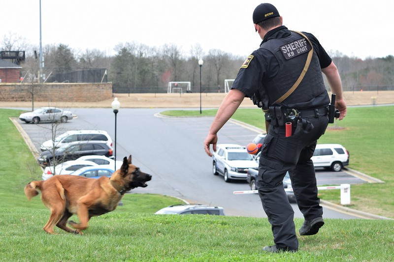 Police Dog Demo- 27 March 2018