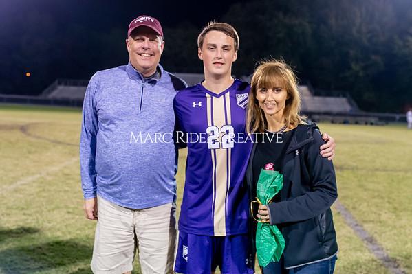 Broughton soccer senior night vs Leesville. October 21, 2019. D4S_8552