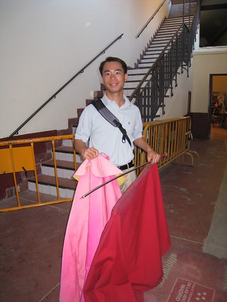 JC with cape and sword