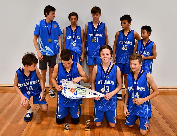 """U14"" Boys 2019 Premiership Team Photo Renmark"