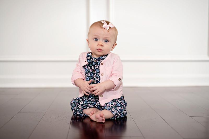 Williamsport Baby Photographer : 5/7/16 Brynlee at 6 months