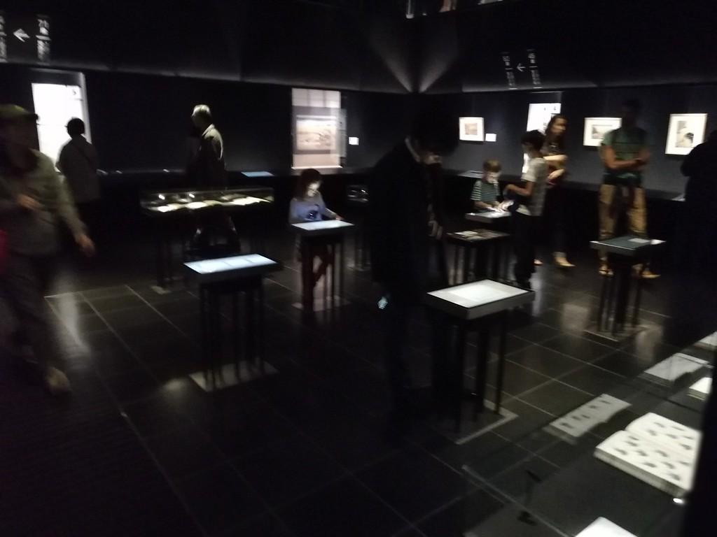 Sumida Hokusai Museum displays