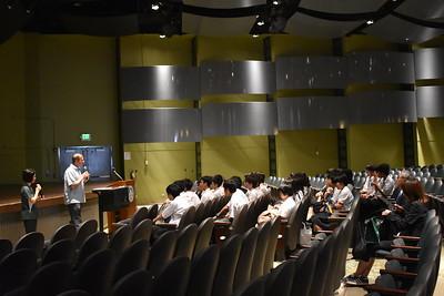Shimada High School visit