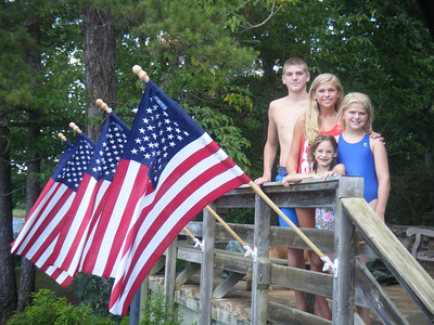 4th of July 2010 - The Lake!