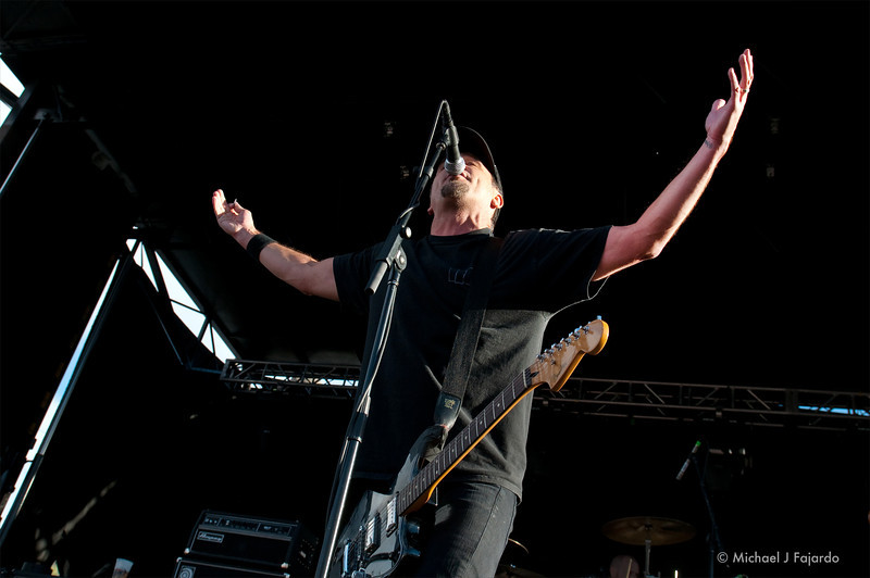 Jim Lindberg The Black Pacific BYO Records' 13th Annual Punk Rock Bowling Music Festival Las Vegas, NV  May 29, 2011