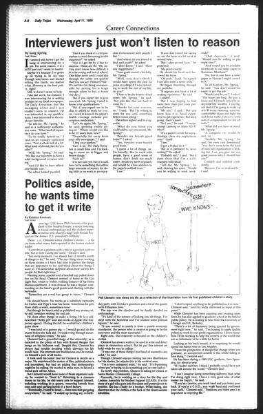 Daily Trojan, Vol. 111, No. 56, April 11, 1990