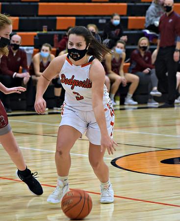 Platteville @ Dodgeville Girls Basketball 2-6-21
