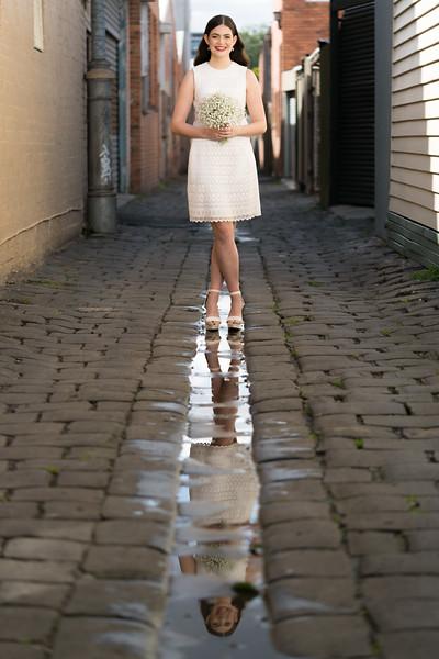 Model: Ella Crotty, HMUAs: Jessica Schifferle / Emily Tuddenham, Floristry: Bonnie Ellen King